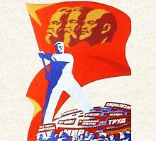 Marx, Engels and Lenin Hoodie