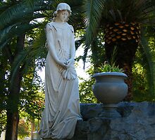 Beautiful Cemetery Statue by Leslie Robinson