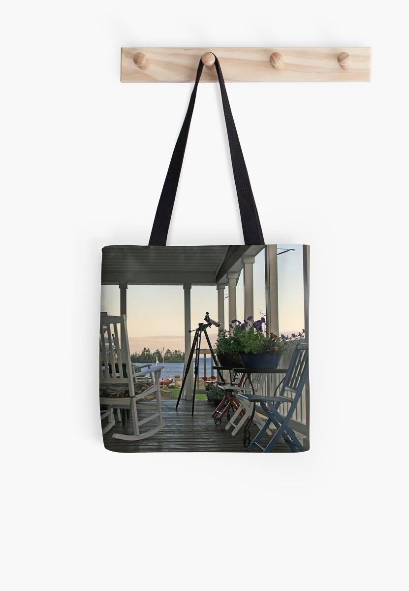 chairs on porch by Lynne Prestebak