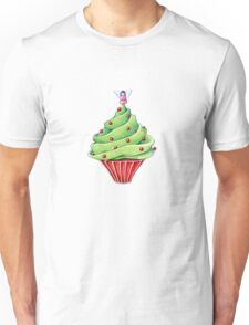 Christmas Tree Cupcake Unisex T-Shirt