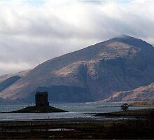 Castle Stalker by Iain Girdler