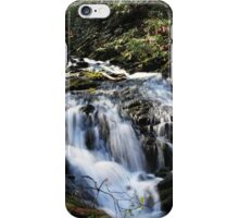 flowing down the mountain iPhone Case/Skin