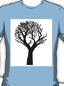 Beautiful silhouette of a tree T-Shirt