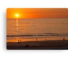 Carmel-by-the-Sea Sunset Canvas Print