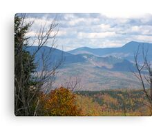 Here's looking at you Campton from Stinson Mt!  Canvas Print