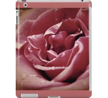 Faded blooms and memories iPad Case/Skin