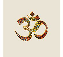 OM - Mantra - Buddhism - Symbol of spiritual strength  Photographic Print