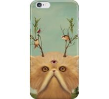 Cat Deity iPhone Case/Skin