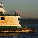 The Sound and the Ferry by Gary Lee Parker