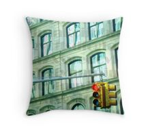 A Freezing Rush  Throw Pillow
