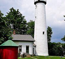Pointe Aux Barques Lighthouse II by Mark Bolen