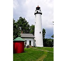 Pointe Aux Barques Lighthouse II Photographic Print