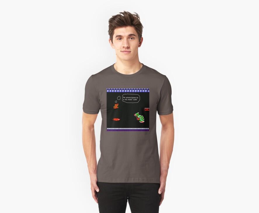 Mario Castle Shirt by Jimmy Haslam