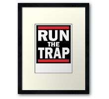 RUN the TRAP Framed Print