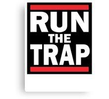 RUN the TRAP Canvas Print