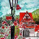 Helen Ga watercolor painting art by derekmccrea