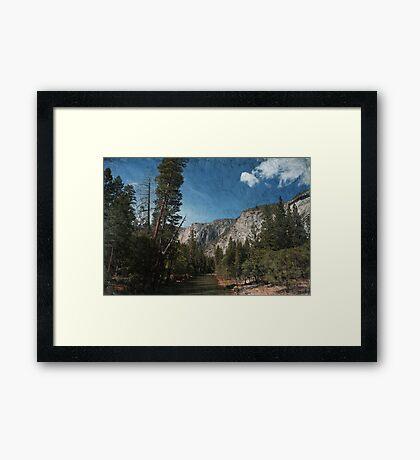 Silent River Framed Print