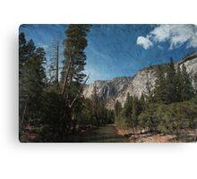 Silent River Canvas Print