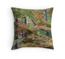 Fall Beginnings Throw Pillow