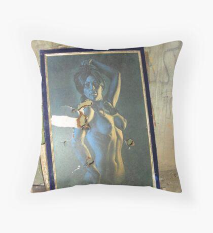 Derelict Art Throw Pillow