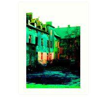 City Colors Art Print