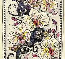 Orchid Monkeys by Zoe Sadokierski