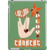 Live long play conkers iPad Case/Skin