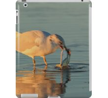 morning catch iPad Case/Skin