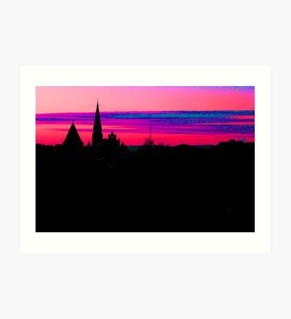 City Colors Art Print