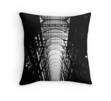 Dark Arches Throw Pillow