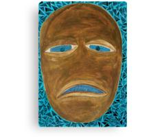 SLAVERY KNOWS, BROKEN AND STOLEN NOSE Canvas Print