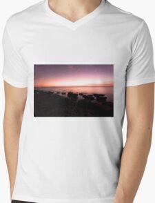 silky smooth bay Mens V-Neck T-Shirt