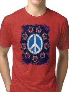 Beetle Peace Tri-blend T-Shirt