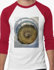 Cloughmore Stone, Rostrevor, County Down Men's Baseball ¾ T-Shirt