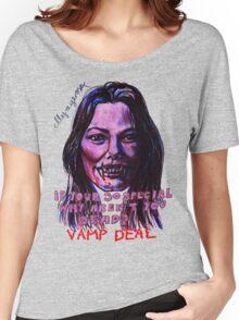 Vamp Deal Women's Relaxed Fit T-Shirt