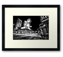 Dundas Lights Framed Print