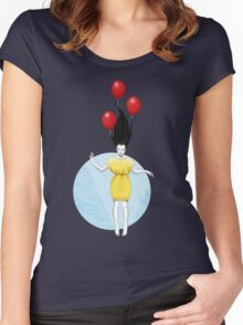 I'll Fly Away Women's Fitted Scoop T-Shirt
