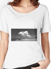 rain in the forecast Women's Relaxed Fit T-Shirt