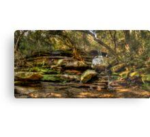 Somersby Falls Panorama Metal Print