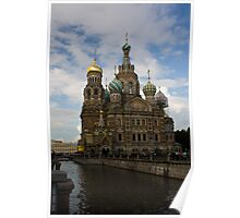 Church on the Spilled Blood Poster