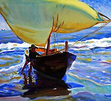 Sail boy by Roderick Reed