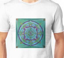 Follow your heart free-hand mandala Unisex T-Shirt