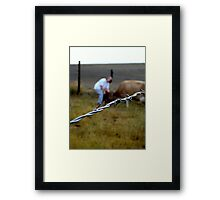 Caring Friend Framed Print