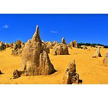 Pinnacles - Nambung National Park Photographic Print