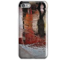 Rain and reflections iPhone Case/Skin