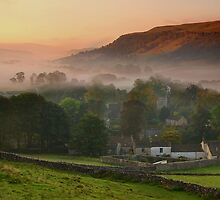 Kettlewell Sunrise by Andrew Leighton
