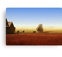 Rawdon everyday life Canvas Print