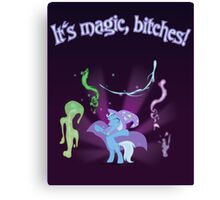 It's MAGIC! with text Canvas Print