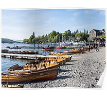 Boats At Rest Poster