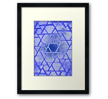 Abstract Screen Framed Print